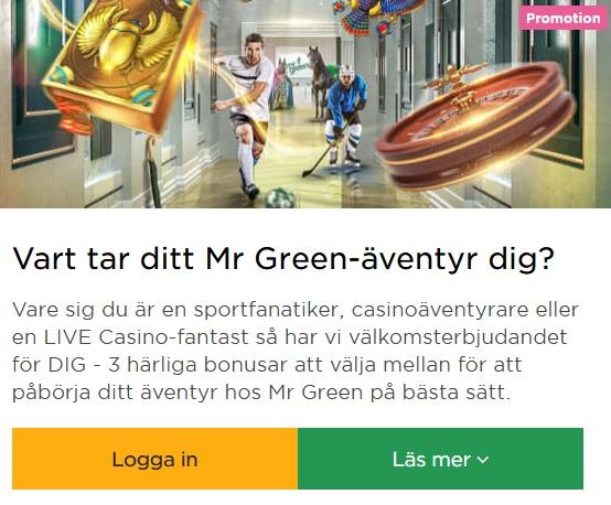 Klicka här och delta i Mr Green Julpriser 2019!