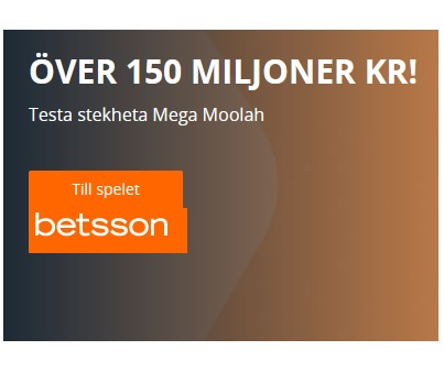 Tävla om 150 miljoner kronor hos Betsson Casino!