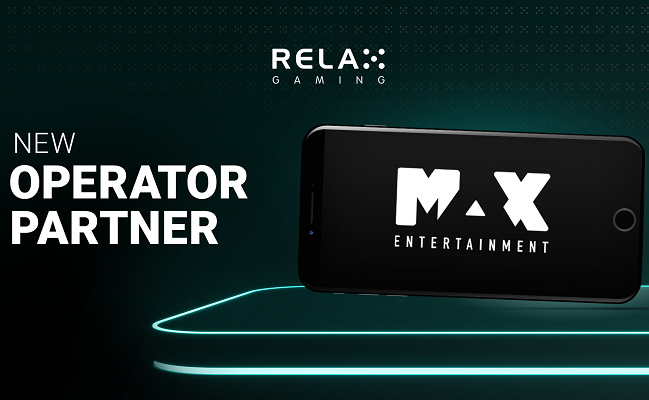 Max Entertainment får casinospel från Relax Gaming!