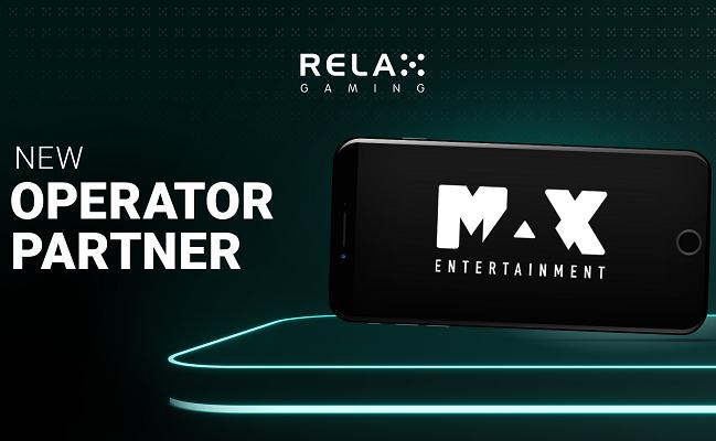 Max Entertainment får casinospel från Relax Gaming!